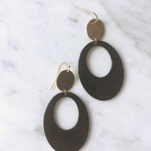Oval Black