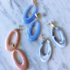 Oval Marble (3 kleuren)