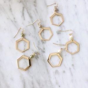 Pearl Hexagon (3 kleuren)