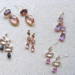 Crystal Earrings Chique (8 kleuren)