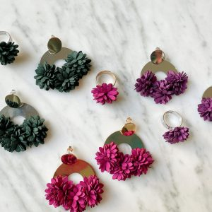 Frida Earrings + Free Ring