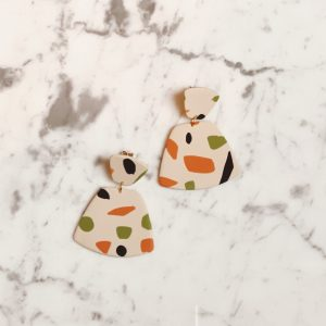 Terrazzo Trapezium Earrings