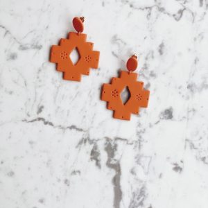 Boho Aztec Earrings